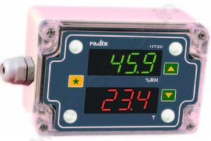 Radix RH+T Indicator & ControllerHT20---6500